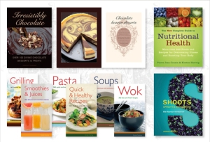 Tim finds cookery books inspiring
