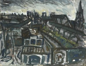 Leon Kossoff's 'View of Hackney'